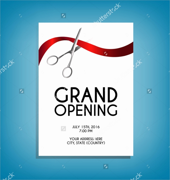 Grand Opening Invitation Template New 28 Grand Opening Flyer Templates Psd Docs Pages Ai