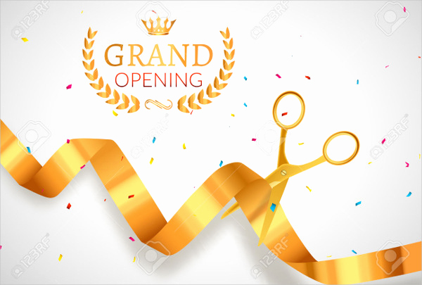 Grand Opening Invitation Template Unique 11 Grand Opening Invitation Banners Psd Ai Word