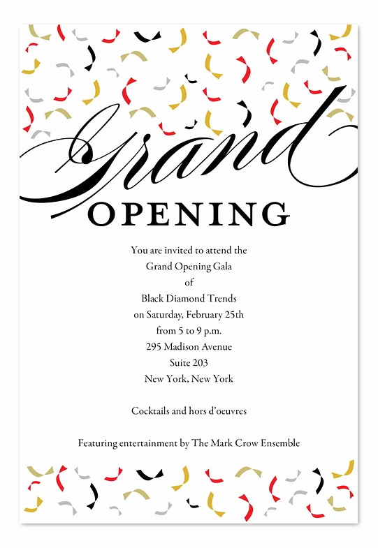 Grand Opening Invitation Wording Inspirational Best 25 Corporate Invitation Ideas On Pinterest