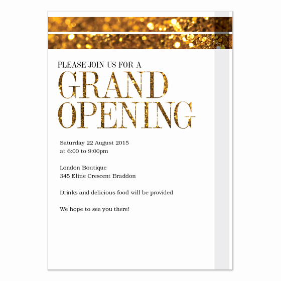 Grand Opening Invitation Wording Inspirational Grand Opening Invitations & Cards On Pingg