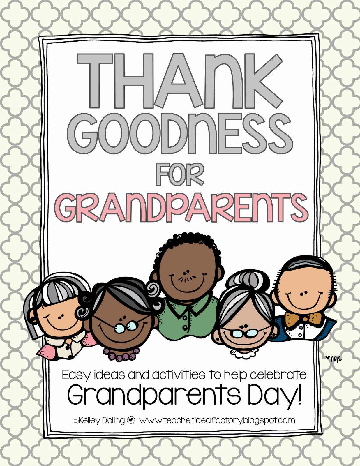 Grandparents Day Invitation Template Awesome Teacher Idea Factory Thank Goodness for Grandparents