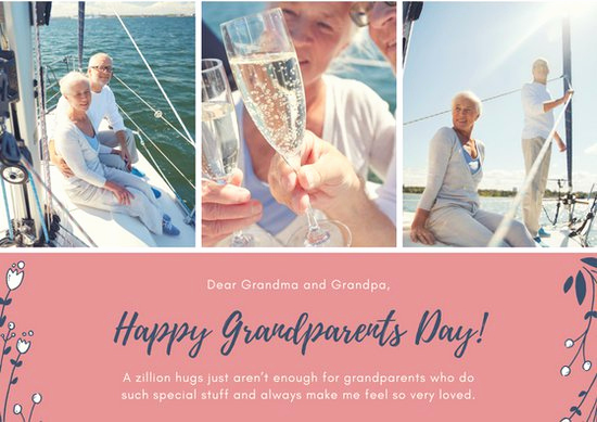 Grandparents Day Invitation Template Beautiful Customize 45 Grandparents Day Card Templates Online Canva