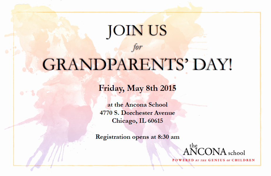 Grandparents Day Invitation Template Beautiful Family Tree Invitations to Grandparents Day at School