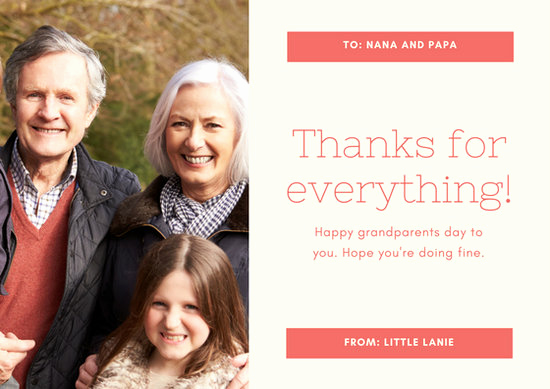 Grandparents Day Invitation Template Fresh Customize 45 Grandparents Day Card Templates Online Canva
