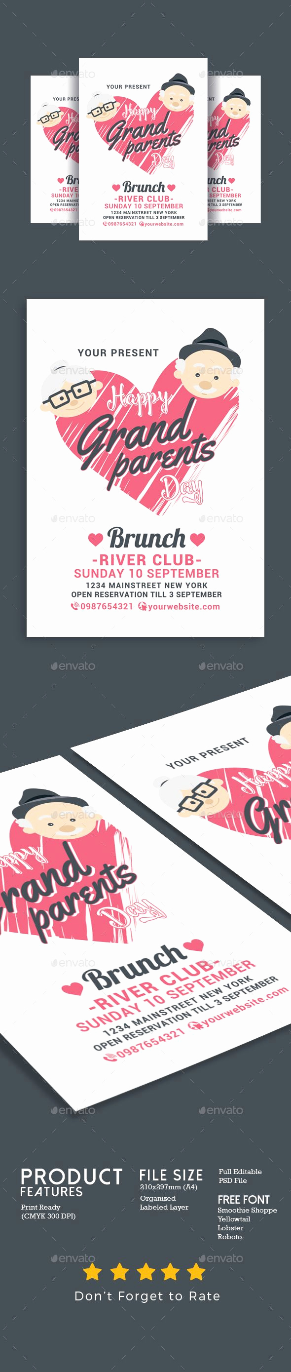 Grandparents Day Invitation Template New Best 25 Happy Grandparents Day Ideas On Pinterest