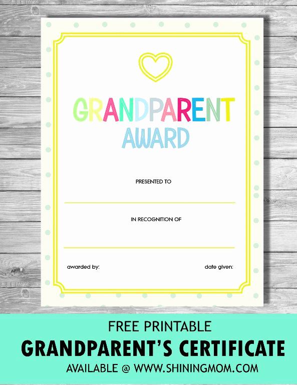 Grandparents Day Invitation Template Unique Fun and Sweet Grandparents' Day Free Printables