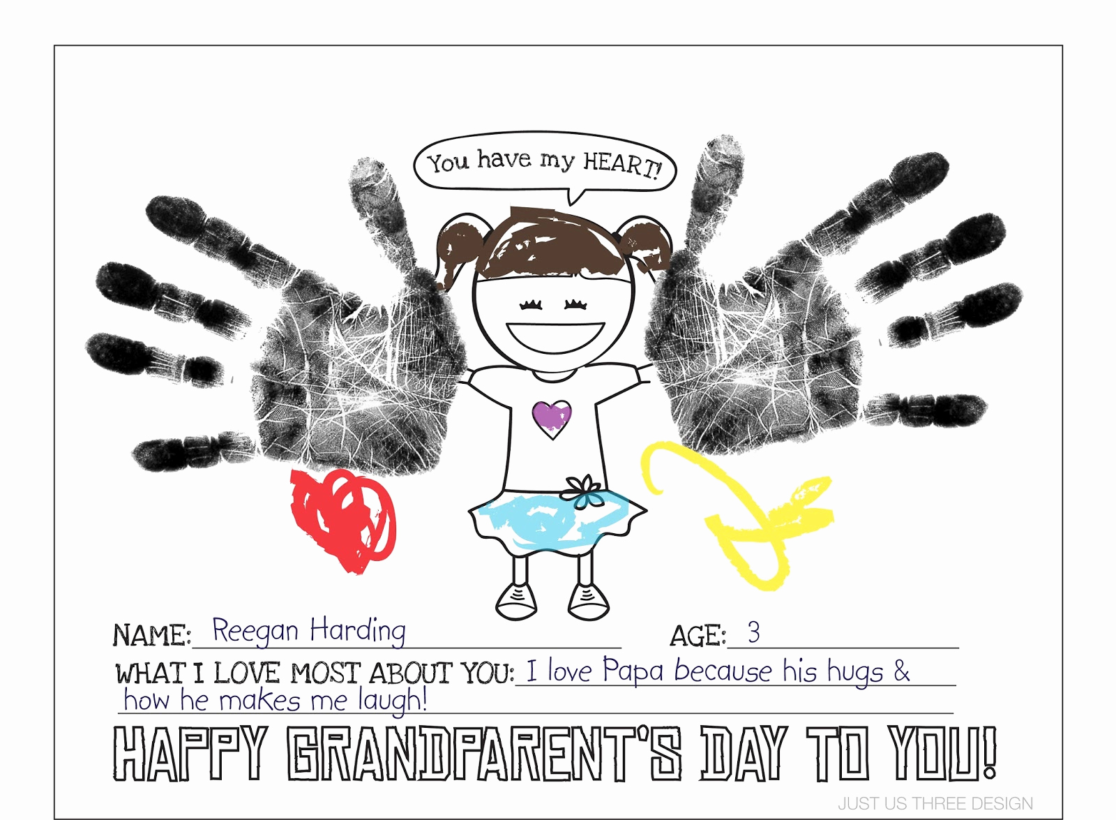 Grandparents Day Invitation Template Unique Grandparents High Tea Invite