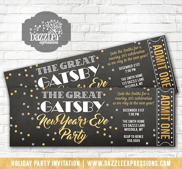 Great Gatsby Invitation Ideas New Best 25 Great Gatsby Party Decorations Ideas On Pinterest