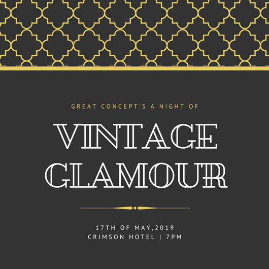 Great Gatsby Invitation Template Beautiful Customize 204 Great Gatsby Invitation Templates Online