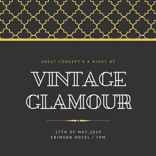 Great Gatsby Invitation Template Beautiful Customize 204 Great Gatsby Invitation Templates Online