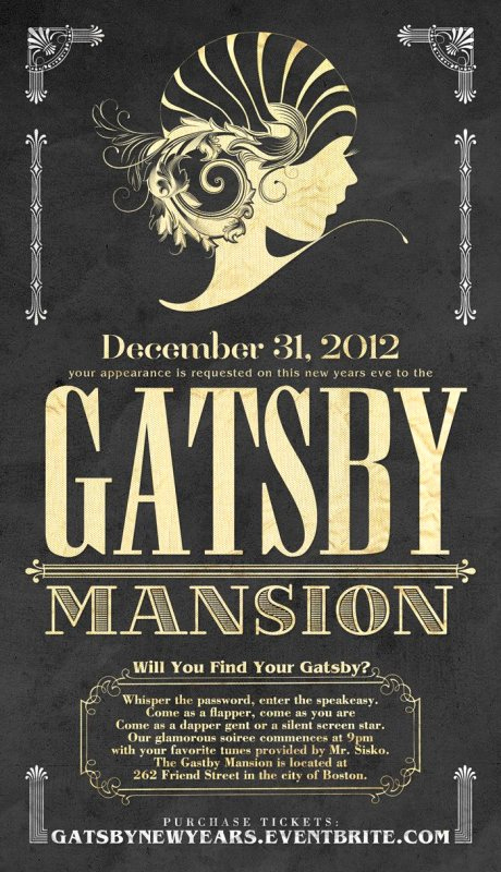 Great Gatsby Invitation Wording Lovely Fiesta El Gran Gatsby