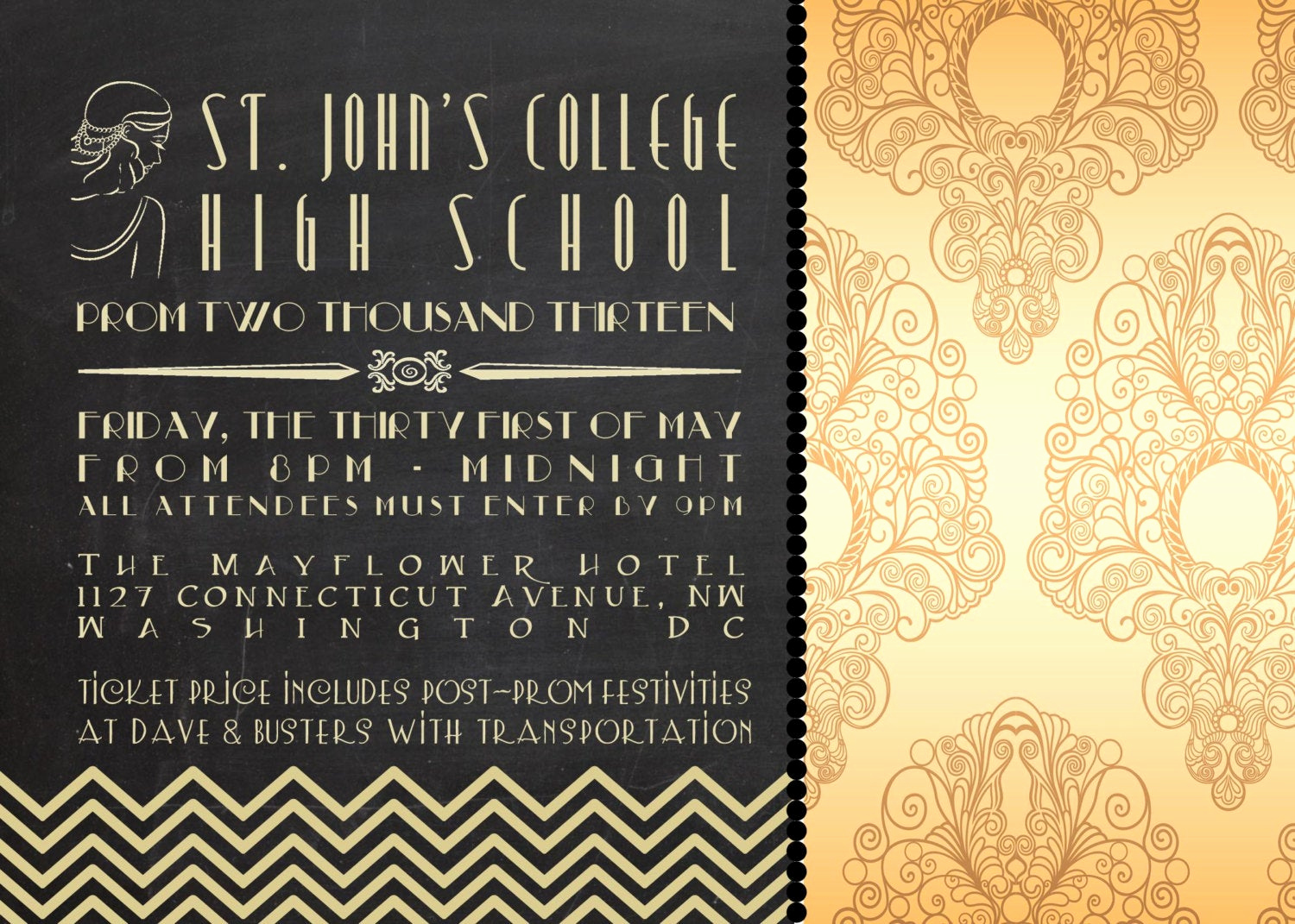 Great Gatsby Invitation Wording Unique Great Gatsby Invitation by Littlelawsprints On Etsy