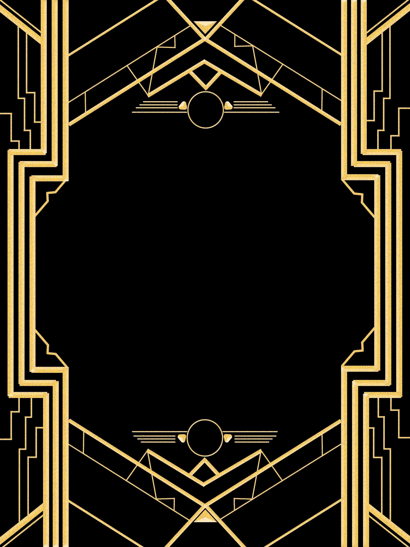Great Gatsby Party Invitation Templates Beautiful Great Gatsby Invitation Templates Blank