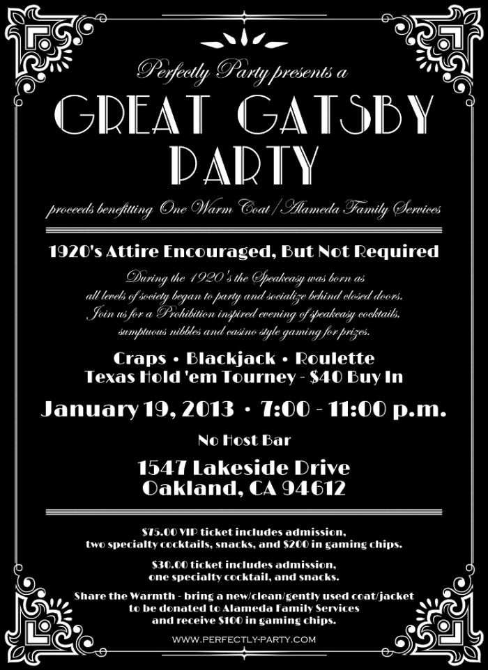 "Great Gatsby Party Invitation Templates Beautiful Lost In Translation why I Won T Be attending Your ""gatsby"