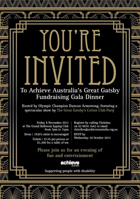 Great Gatsby Prom Invitation Beautiful Pin by Megan Craig On Las Vegas Summit 2015