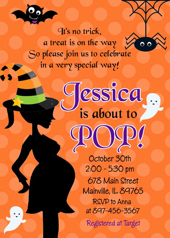 Halloween Baby Shower Invitation Inspirational Halloween Baby Shower – 9 Things You Need to Have