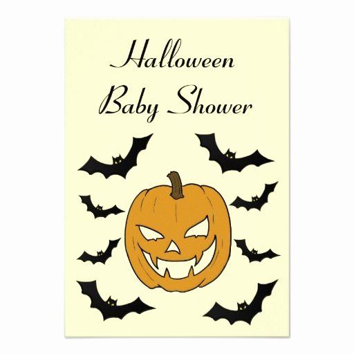 Halloween Baby Shower Invitation New 17 Best Images About Halloween Baby Shower Invitations On
