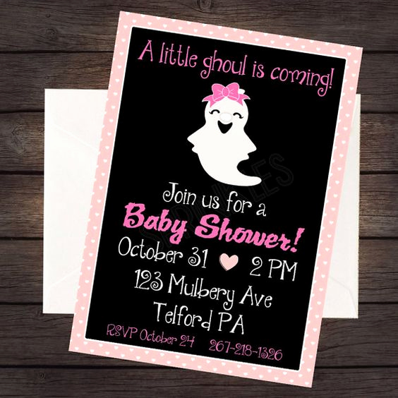 Halloween Baby Shower Invitation Unique Halloween Baby Shower Everything You Need to Know