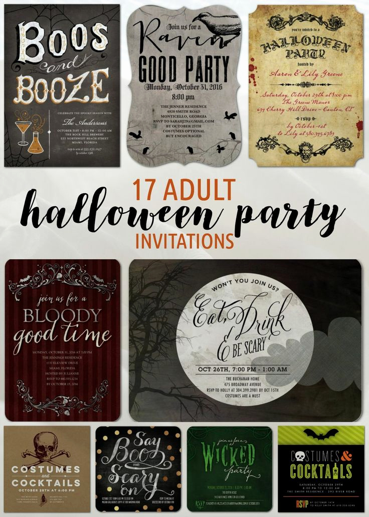 Halloween Costume Party Invitation Awesome 43 Best Images About Adult Halloween Party Ideas On
