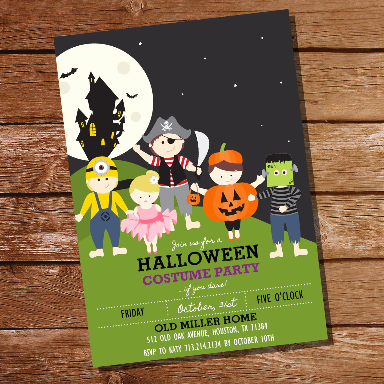 Halloween Costume Party Invitation Beautiful Halloween Costume Party Invitation Kids Halloween Party