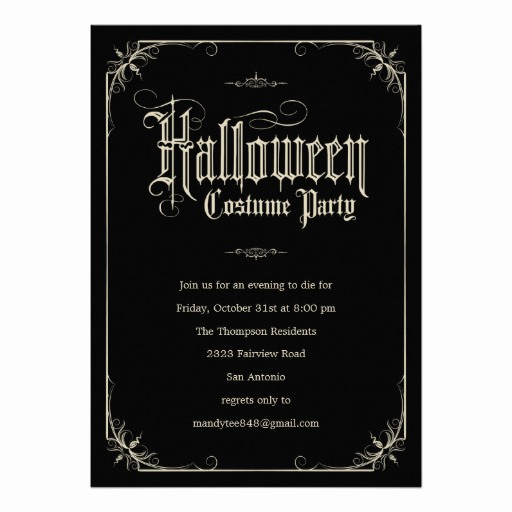 Halloween Costume Party Invitation Fresh 6 000 Costume Party Invitations Costume Party