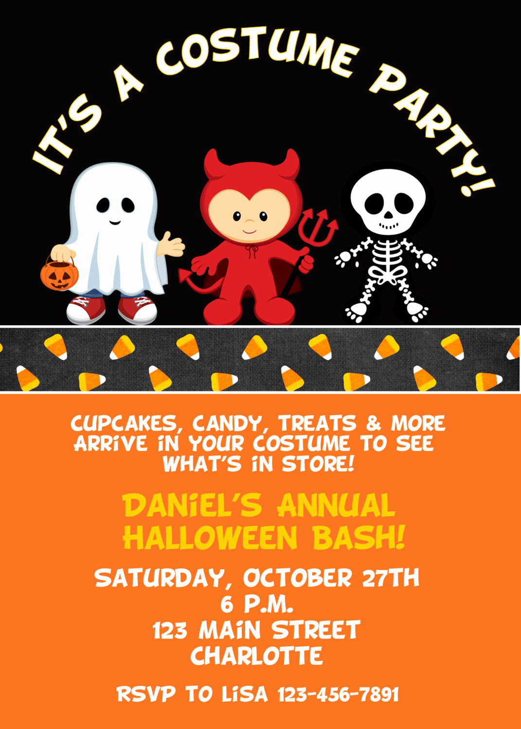 Halloween Costume Party Invitation Fresh Halloween Costume Party Invitation Halloween Costume