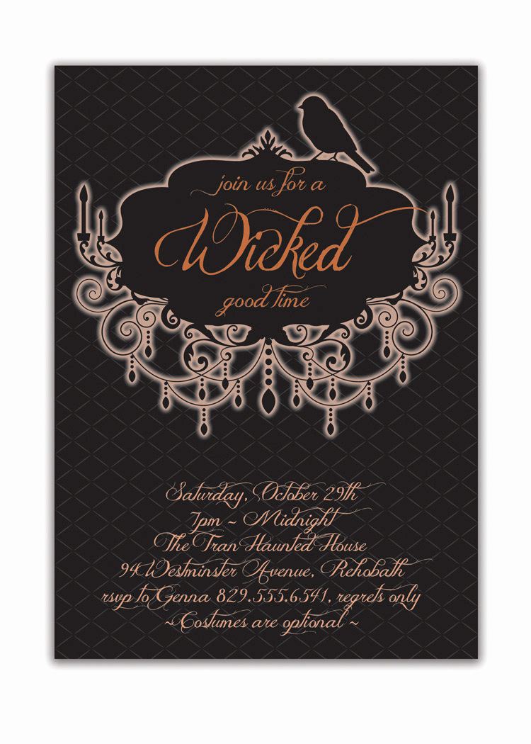 Halloween Costume Party Invitation Inspirational Halloween Party Invitation Adult Costume Party Invitation