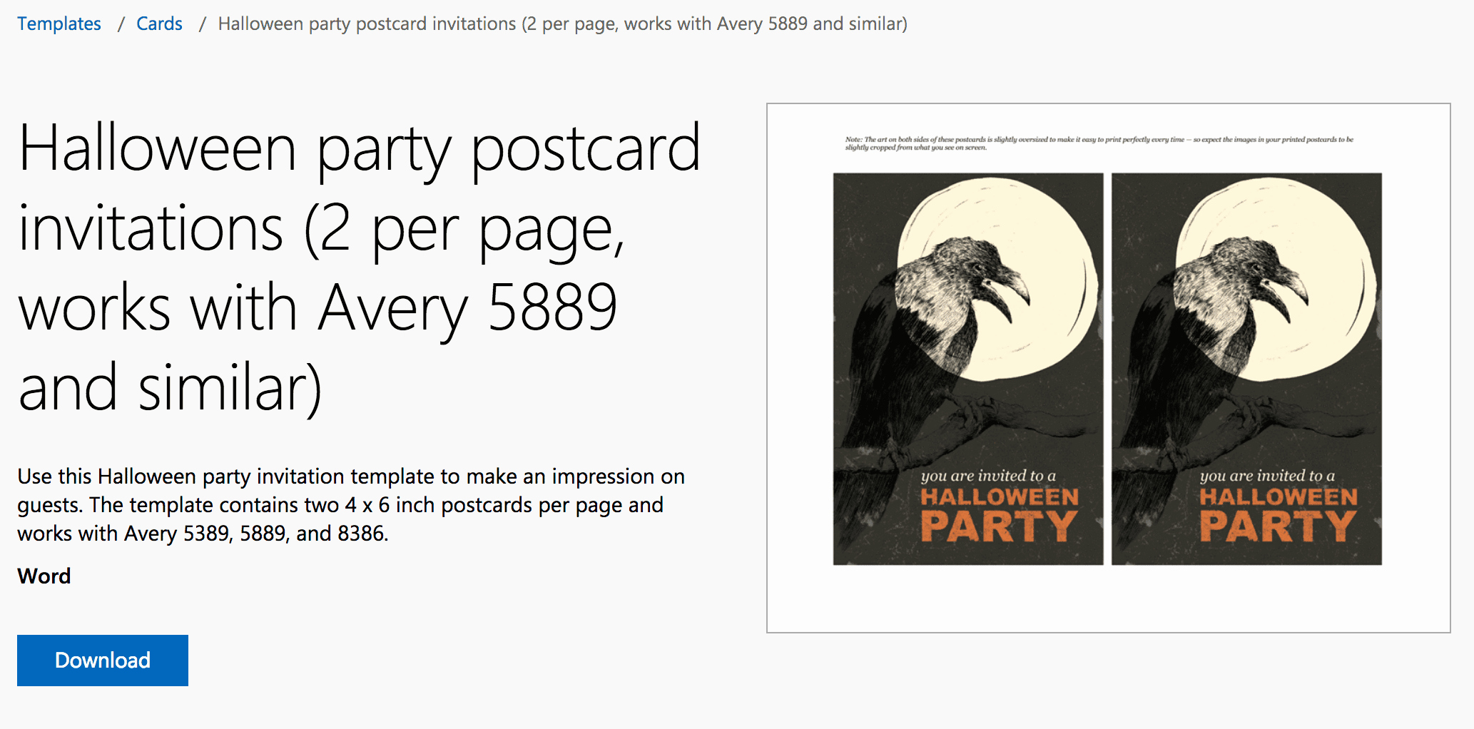 Halloween Invitation Templates Microsoft Word Best Of 12 Free Halloween themed Templates for Microsoft Word