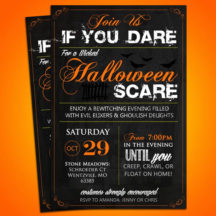 Halloween Invitation Templates Microsoft Word Elegant 36 Best Images About Diy & Custom Invitations On Pinterest