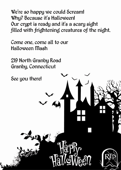Halloween Invitation Templates Microsoft Word Fresh Halloween Invitation Templates Microsoft Word – Festival