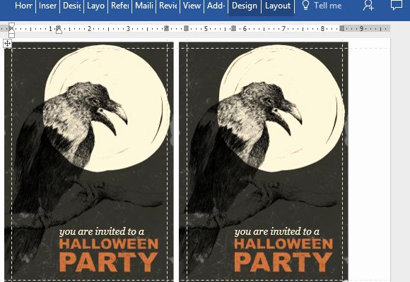 Halloween Invitation Templates Microsoft Word Inspirational Halloween Party Invitation Card Template for Word
