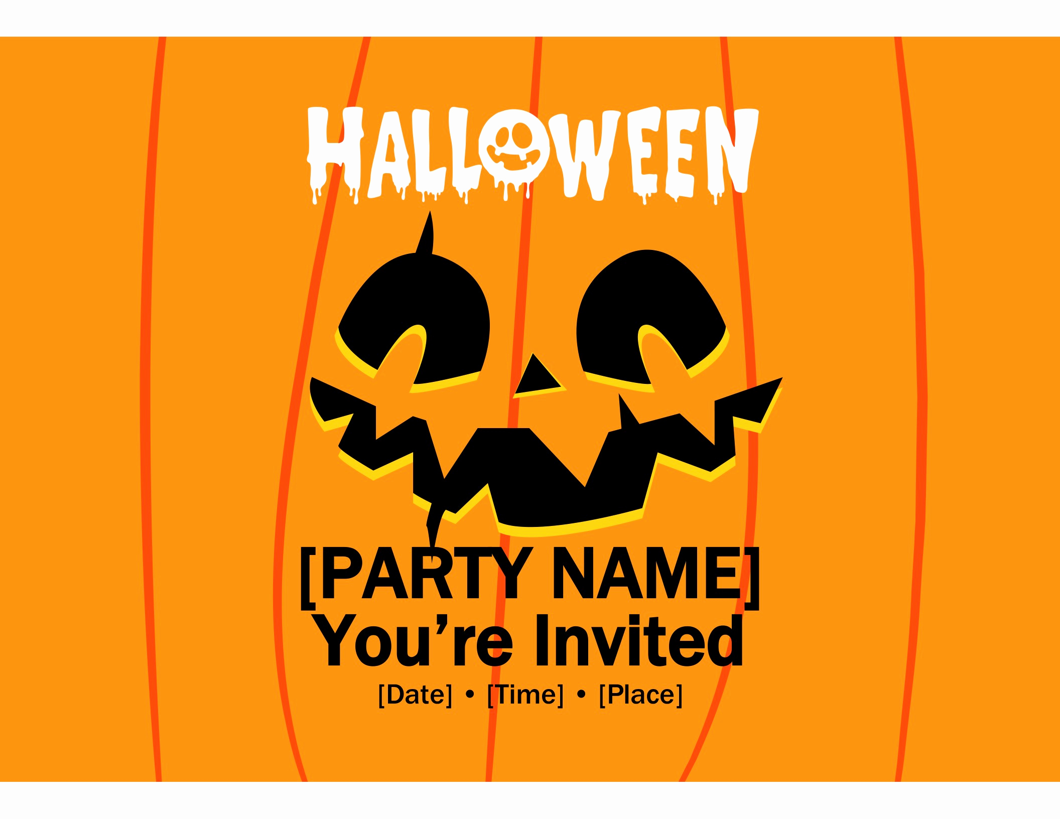 Halloween Invitation Templates Microsoft Word Inspirational Invitations Fice