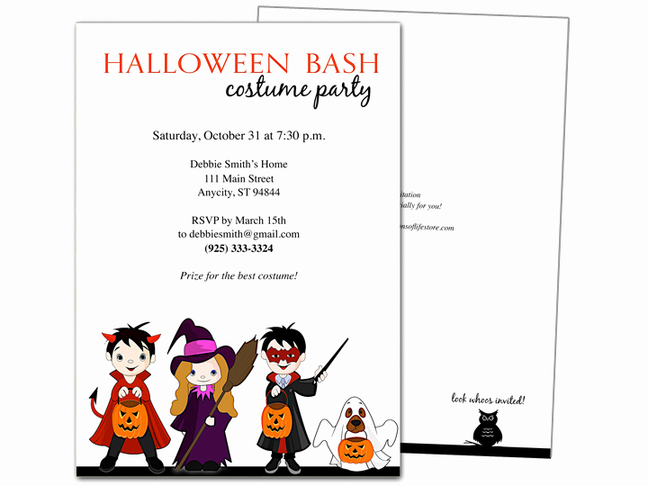 Halloween Invitation Templates Microsoft Word Luxury Halloween Invitation Templates Microsoft Word – Festival