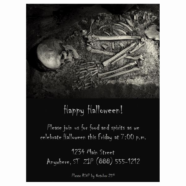 Halloween Invitation Templates Microsoft Word Luxury Halloween Wedding Invitations Free Templates & Fun Ideas
