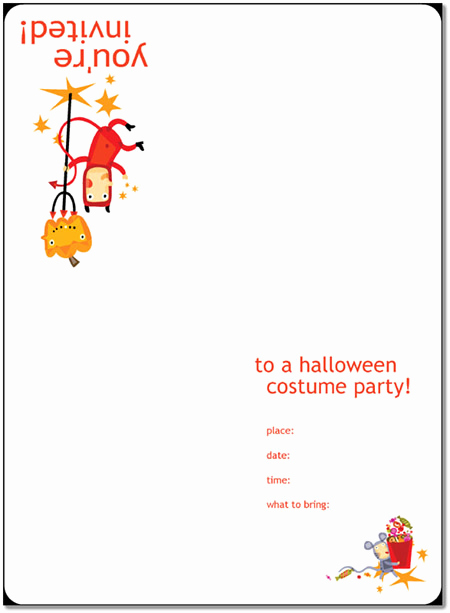 Halloween Invitation Templates Microsoft Word Unique 8 Free Halloween Party Invitations Templates – Word Pdf Pub