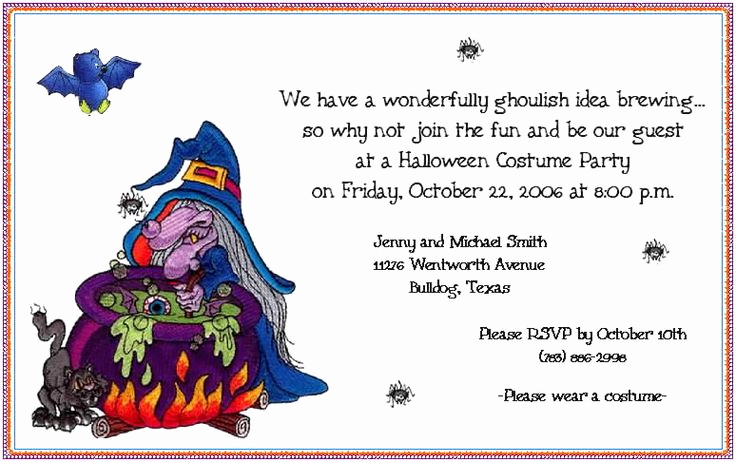 Halloween Invitation Wording Adults Luxury Best 25 Birthday Party Invitation Wording Ideas On