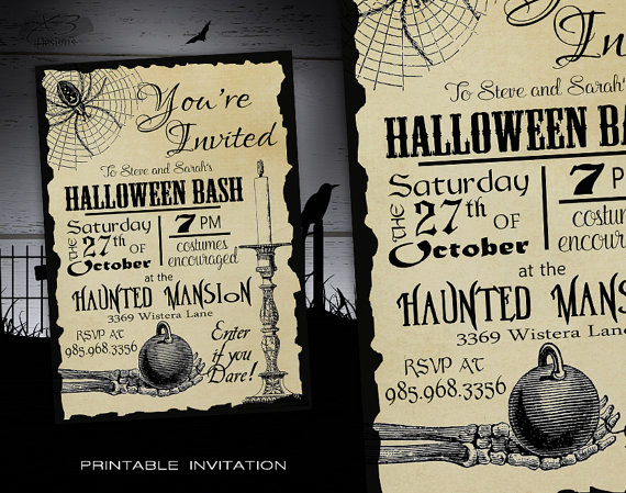 Halloween Invitation Wording Adults New Halloween Party Invitation Adult Diy Halloween Invitations