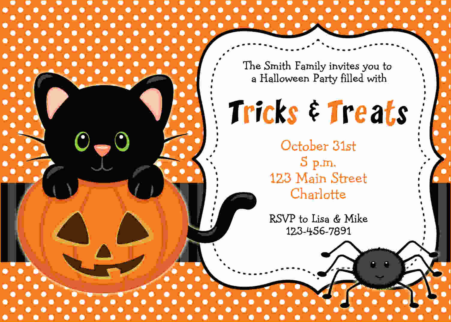 Halloween Party Invitation Templates Best Of Free Printable Halloween Invitations Templates Free