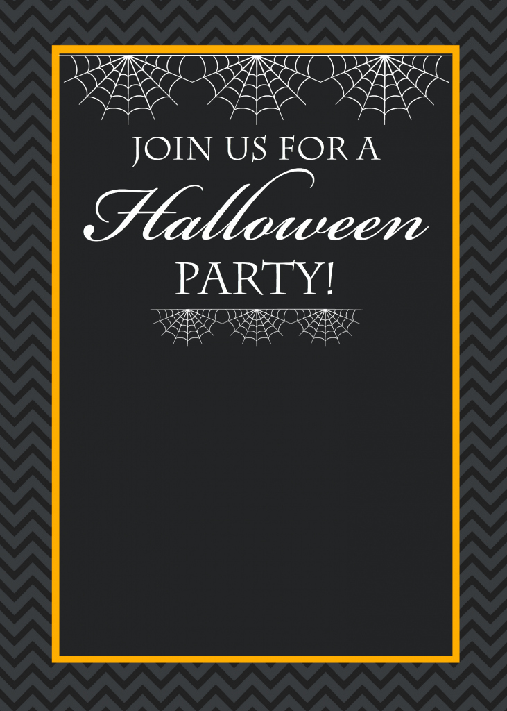 Halloween Party Invitation Templates Best Of Free Printable Halloween Party Invitations Yellow Bliss Road