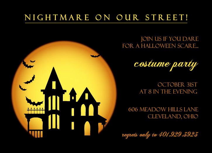 Halloween Party Invitation Templates Inspirational Best 25 Adult Halloween Invitations Ideas On Pinterest