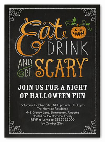 Halloween Party Invitation Templates Luxury 18 Halloween Invitation Wording Ideas