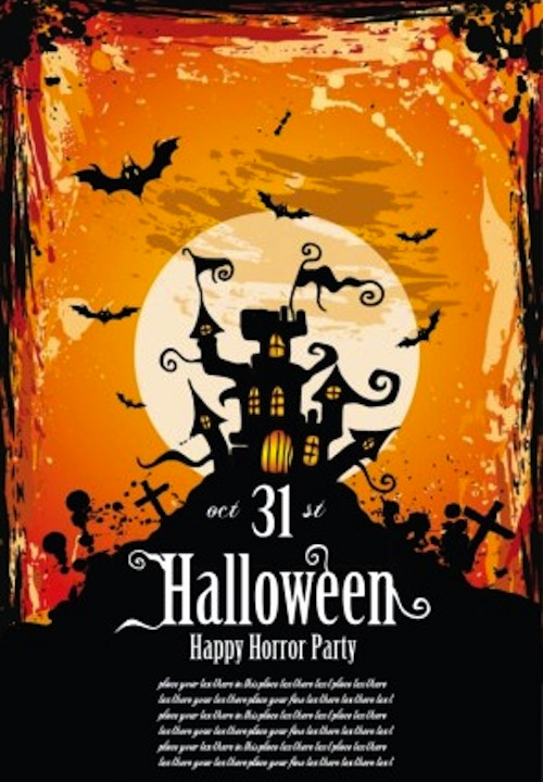 Halloween Party Invitation Templates Unique 12 Best Free Halloween Flyer Templates thedesignblitz