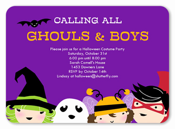 Halloween Party Invitation Wording Awesome 18 Halloween Invitation Wording Ideas