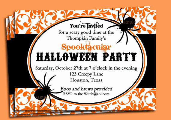 Halloween Party Invitation Wording Fresh Fice Halloween Invitation Wordings – Festival Collections