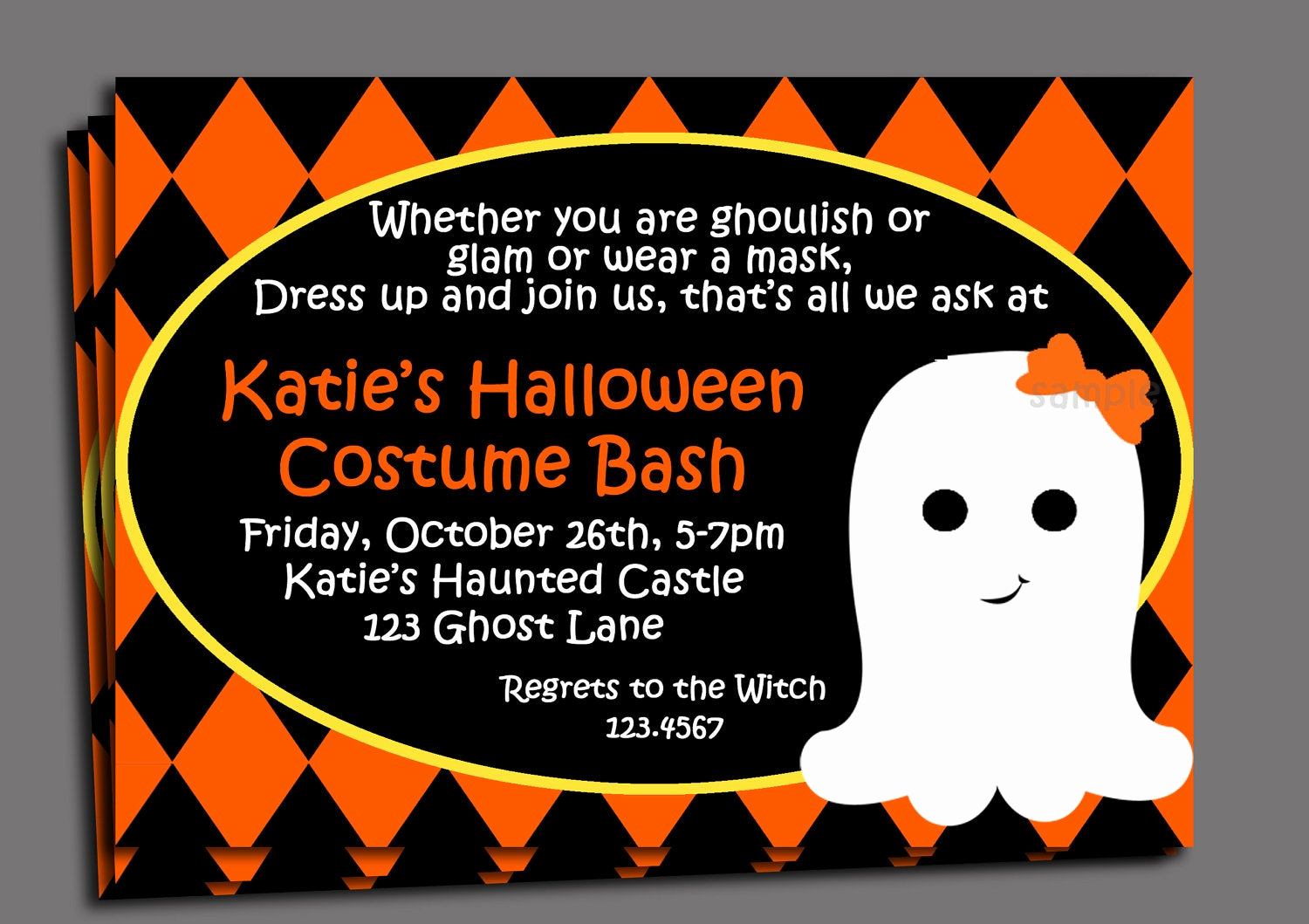 Halloween Party Invitation Wording Fresh Halloween Kid S Costume Party Invitation Printable or