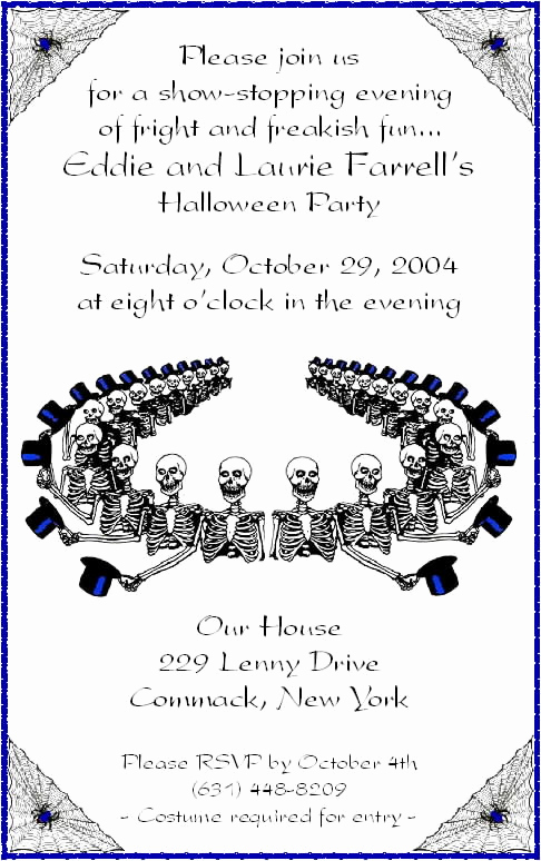 Halloween Party Invitation Wording Fresh Halloween Party Invitation Wording Ideas