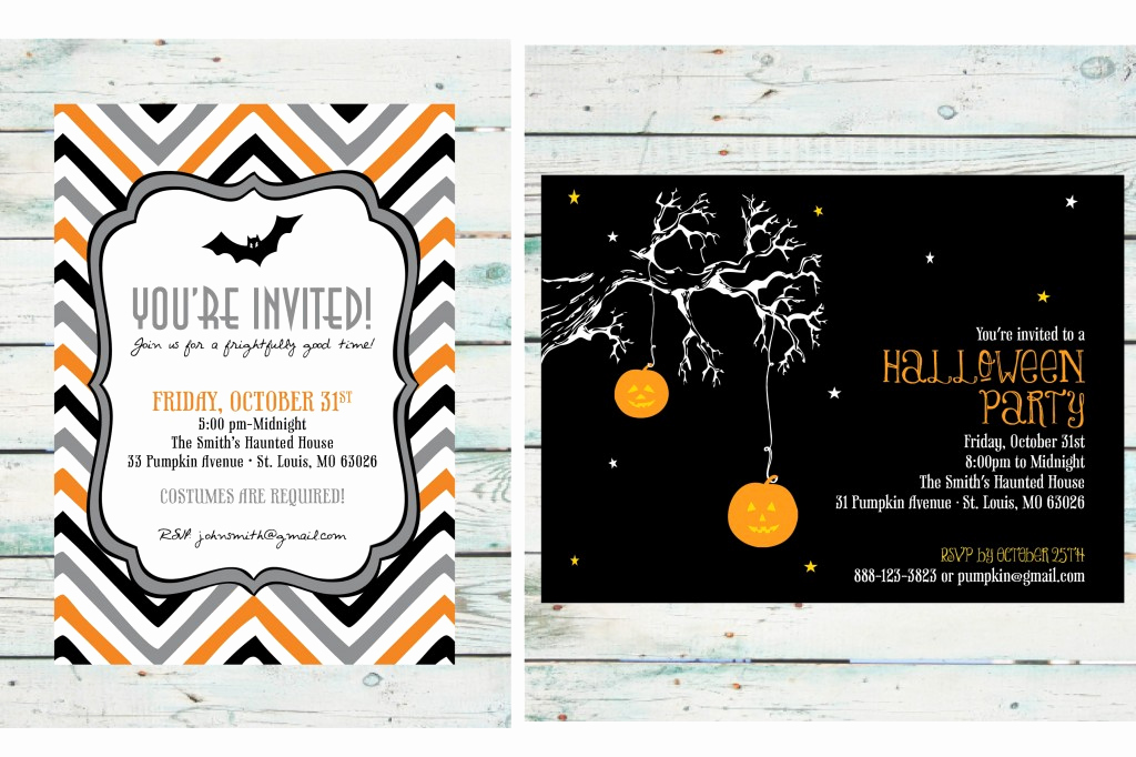 Halloween Party Invitation Wording New Halloween Party Invitation Diy Print at Home Invite
