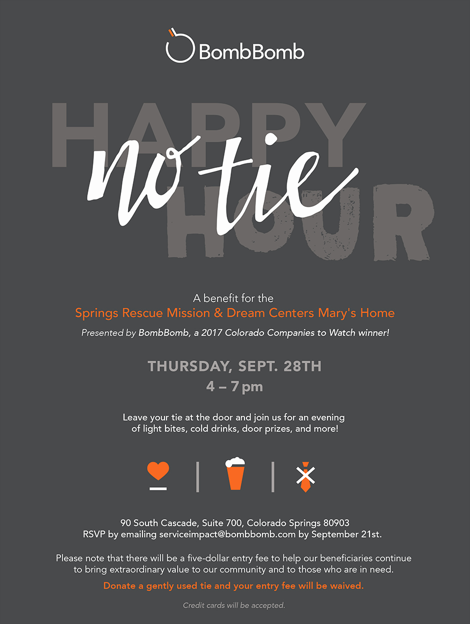Happy Hour Invitation Email Fresh No Tie Happy Hour Bombbomb Fundraiser and Renovation Reveal