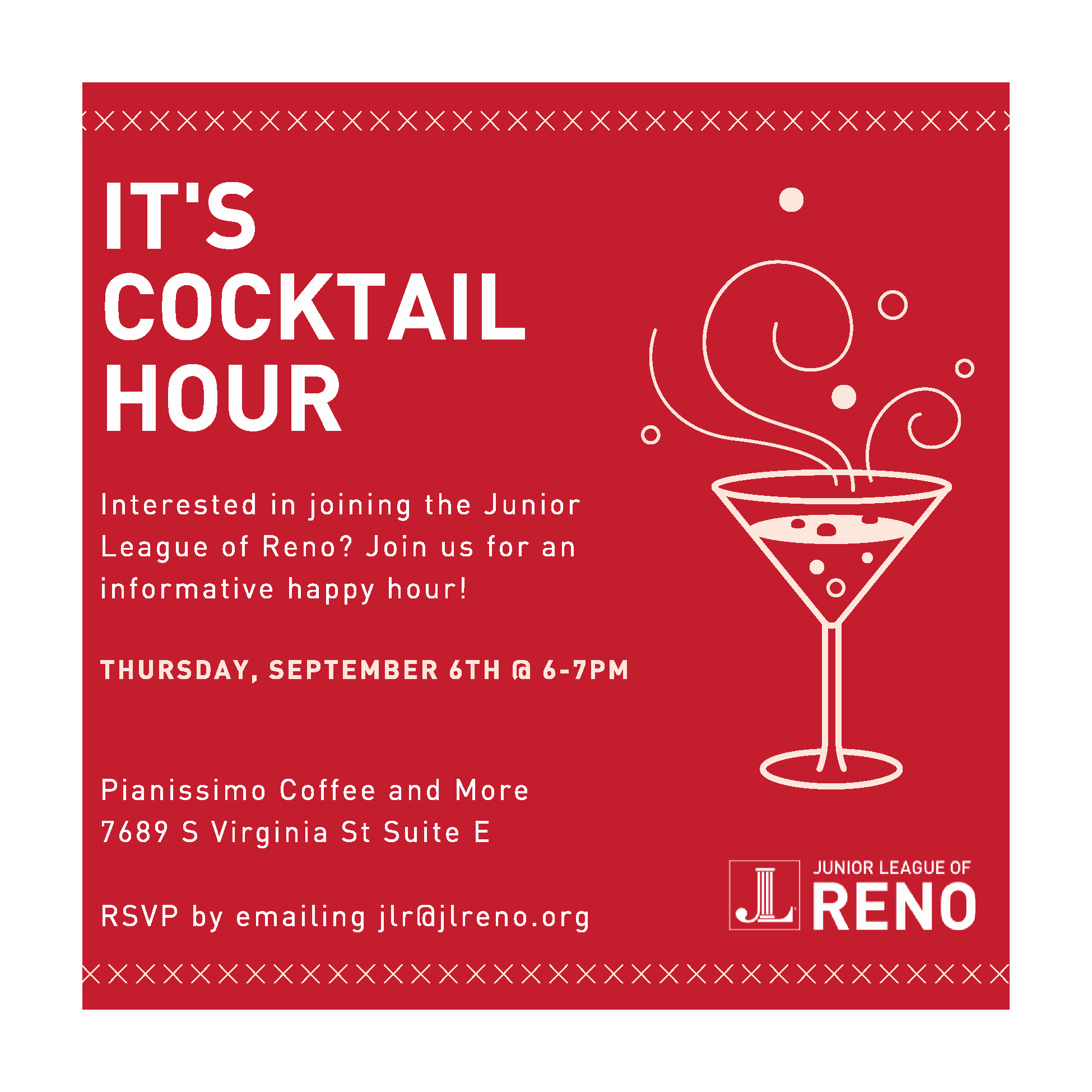 Happy Hour Invitation Email Fresh Sept 6th Happy Hour Invitation Junior League Of