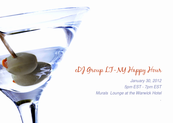 Happy Hour Invitation Email Inspirational Edj Group Legaltech Ny Happy Hour Line Invitations